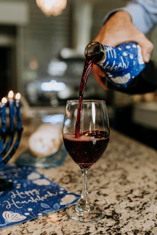 Photo Of Pouring Of Wine To The Glass
