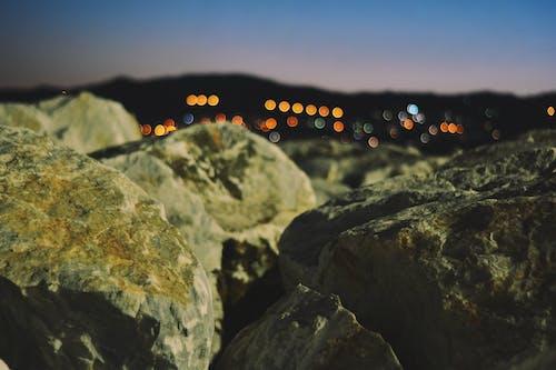 Free stock photo of big rocks, city, greece