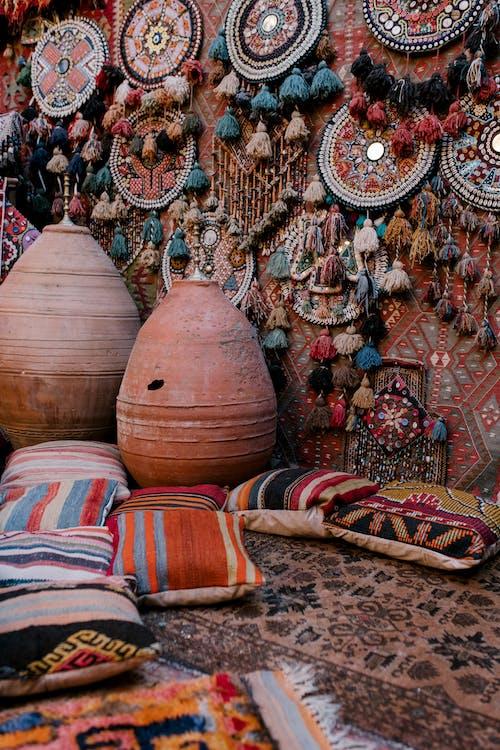 Old oriental decoration in eastern market