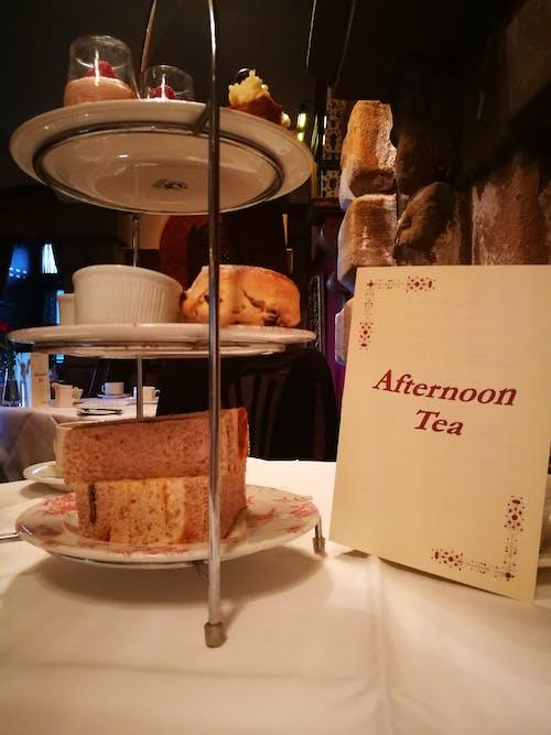 Gratis stockfoto met cakes, middag thee, thee
