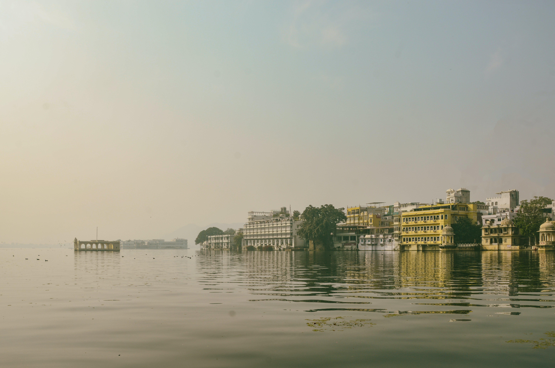 Free stock photo of dusk, lake, old building, royal