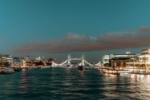 Photo of River Thames During Dawn