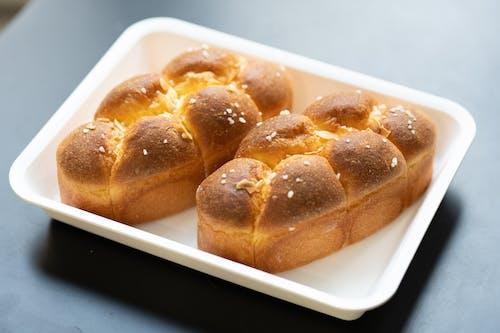 Fotobanka sbezplatnými fotkami na tému cesto, chlieb, chlieb a maslo, chutný