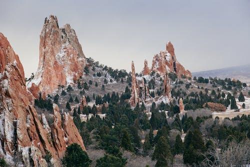 Red Sandstone Formations in Colorado Springs