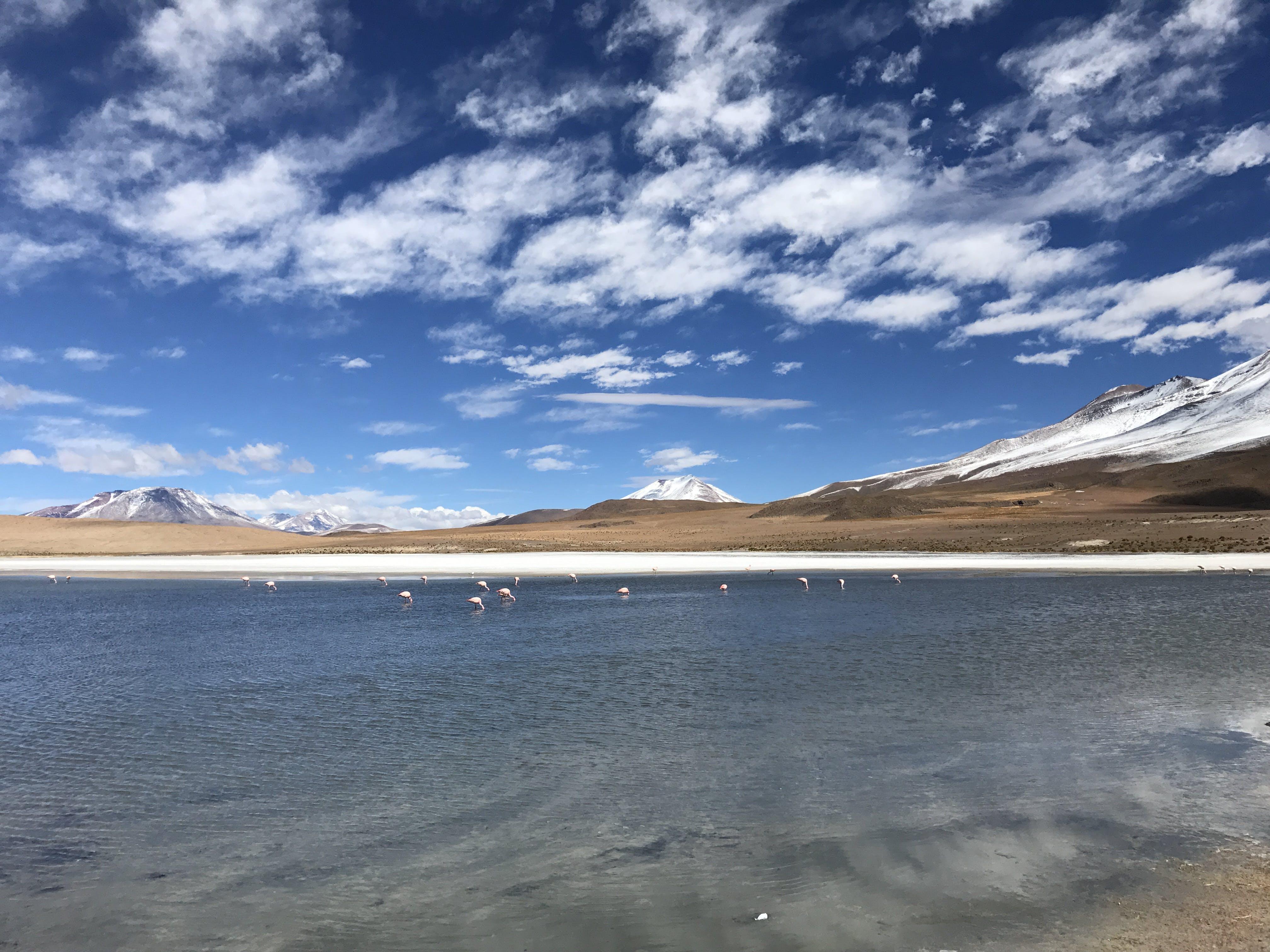 山, 日光, 水, 空の無料の写真素材