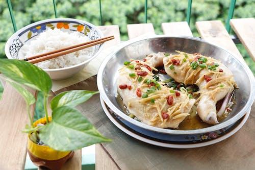 Kostenloses Stock Foto zu abendessen, am tisch, asiatische küche