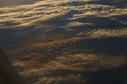 Free stock photo of air plane, cloud carpet, cloudscape
