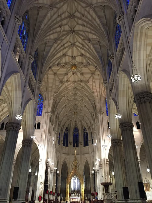 Free stock photo of architecture, cathedral, church, new york city