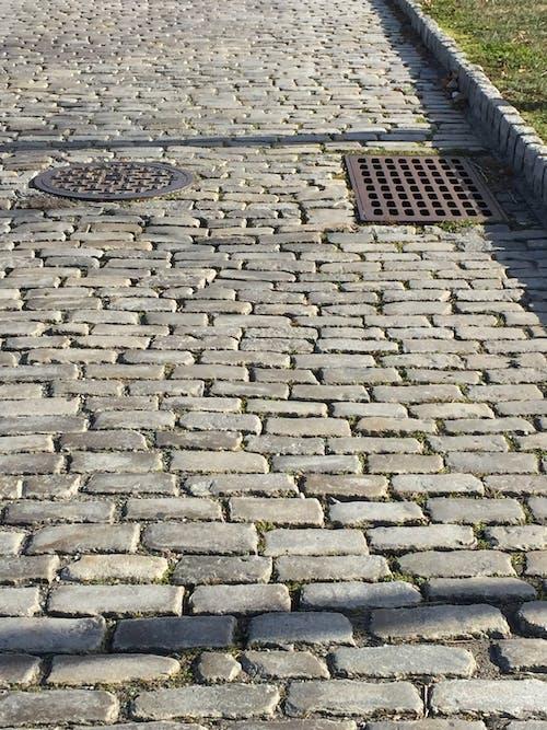 Free stock photo of cobblestone, new york city, paved walkway