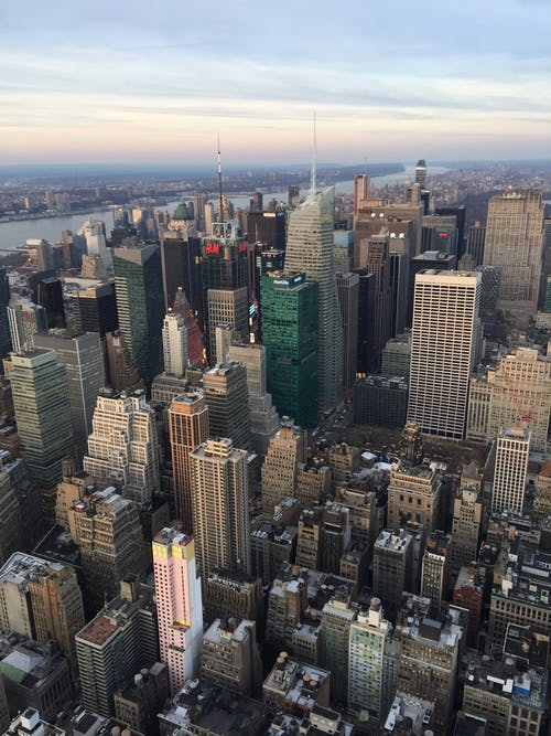 Free stock photo of buildings, city, cityscape, new york