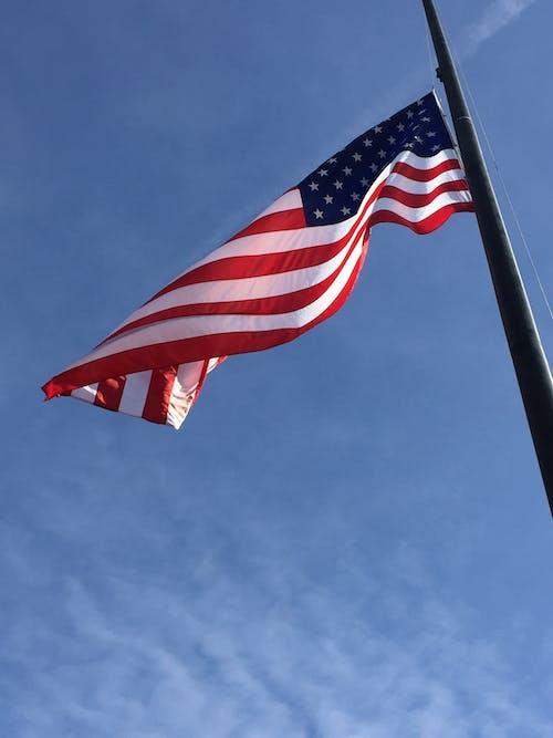 Free stock photo of American flag, old glory, patriotism, united