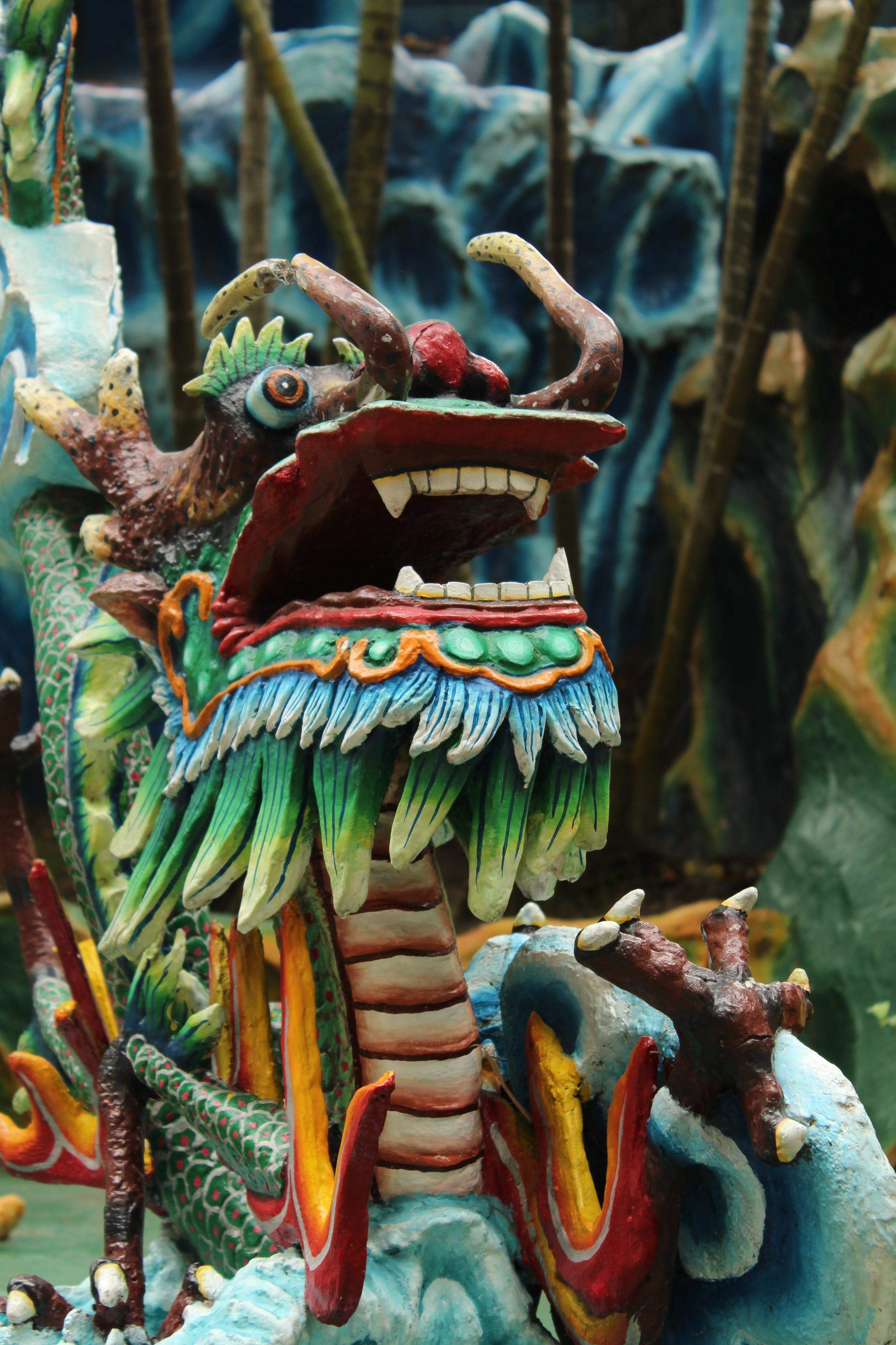 Free stock photo of dragon, Haw par villa, monster, singapore