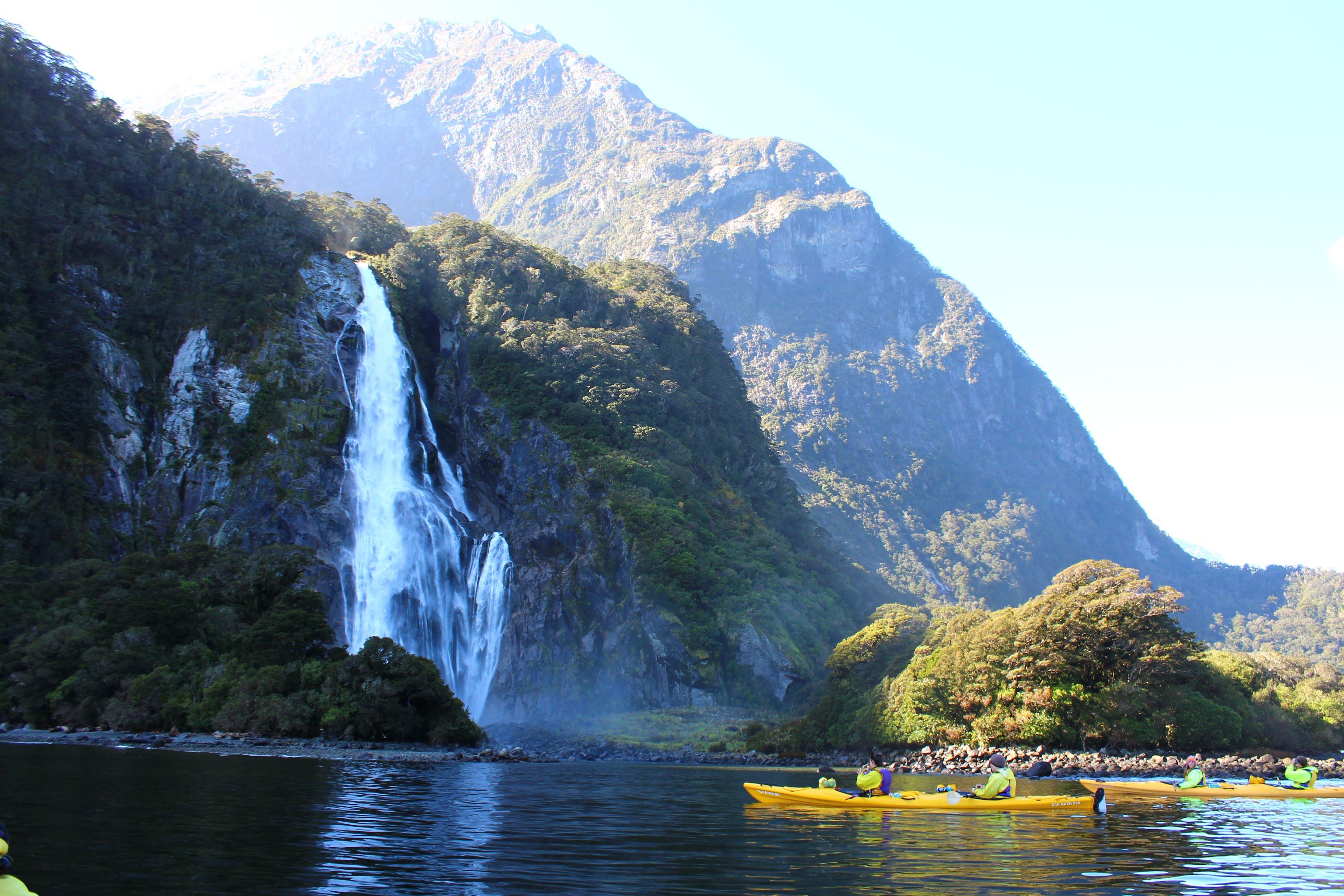 Free stock photo of canoe, fjord, kayak, kayaking