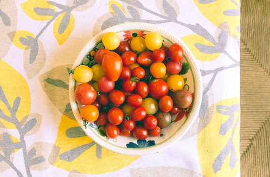 Free stock photo of food, healthy, tomatoes, table