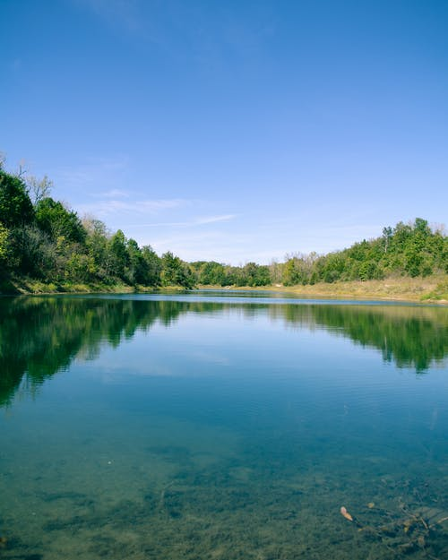 Foto d'estoc gratuïta de aigua blava, aigua dolça, d'aigua dolça