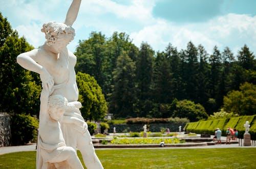 Ilmainen kuvapankkikuva tunnisteilla patsas, puutarhat