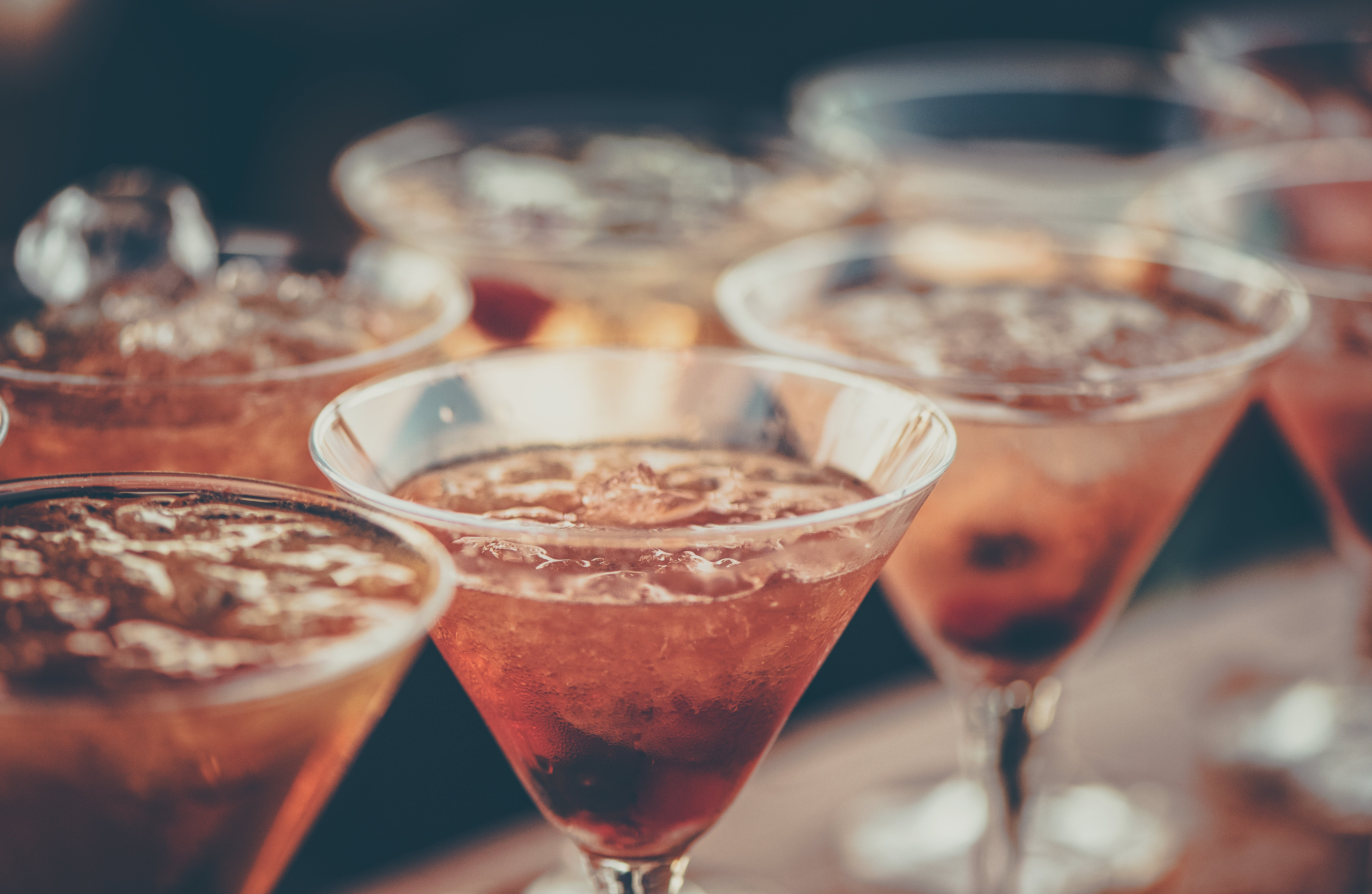 Margarita Glass in Shallow Photo