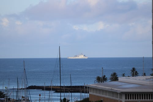 Free stock photo of ocean, ocean liner