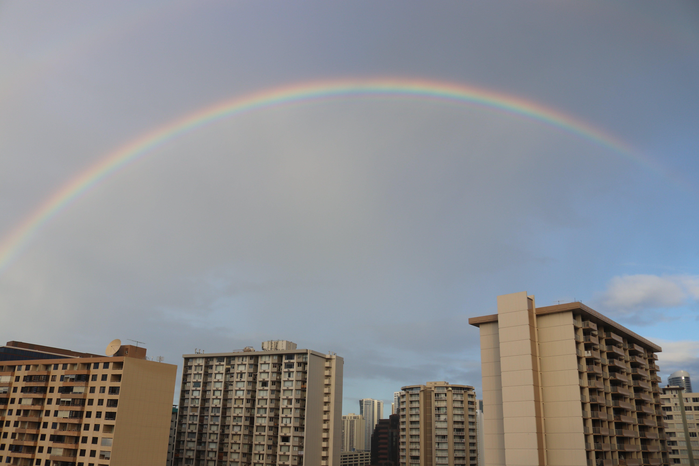 Free stock photo of rainbow