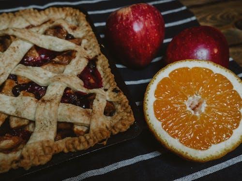 Бесплатное стоковое фото с apple, апельсин, в помещении