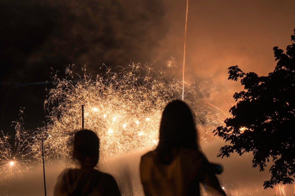 Základová fotografie zdarma na téma ohňostroje