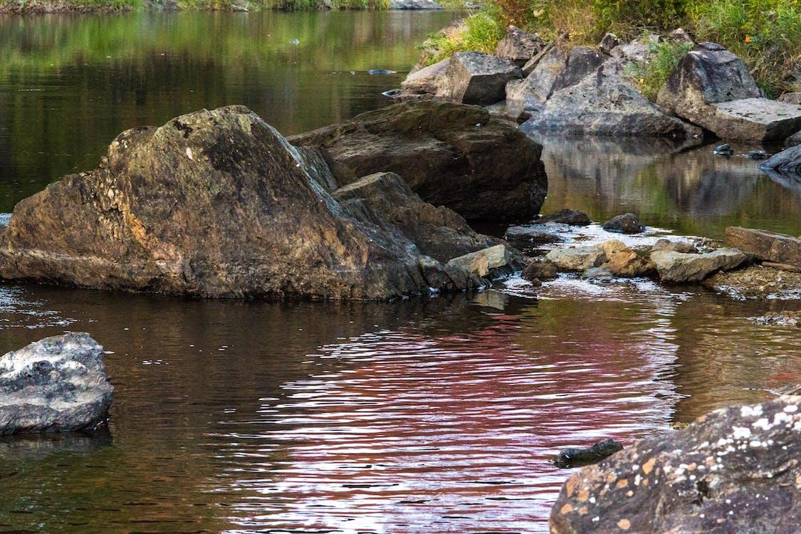 Foto stok gratis perairan yang tenang