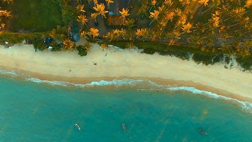 An Aerial Shot of the Arraial d'Ajuda Beach