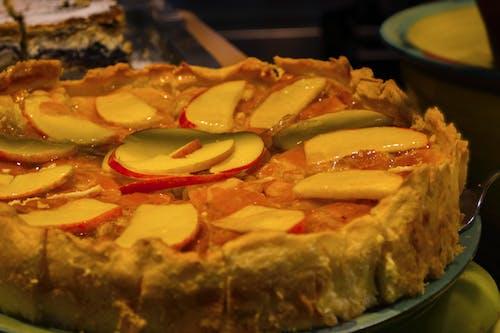 Základová fotografie zdarma na téma dort, jablečný koláč, jablka, jídlo