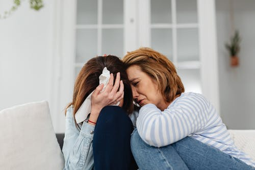 Darmowe zdjęcie z galerii z kaukaskie kobiety, nieszczęśliwy, płacz