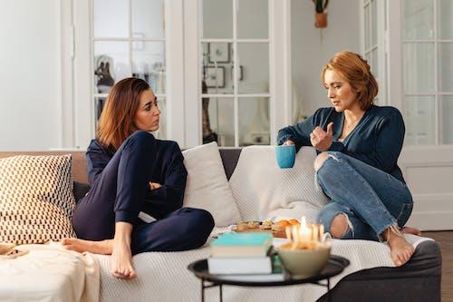 Woman Talking to her Friend