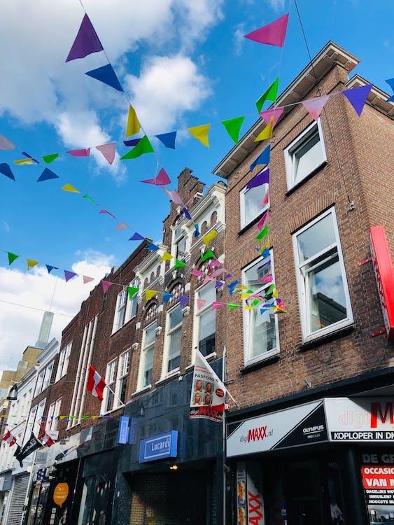 bayraklar, Hollanda, renk içeren Ücretsiz stok fotoğraf
