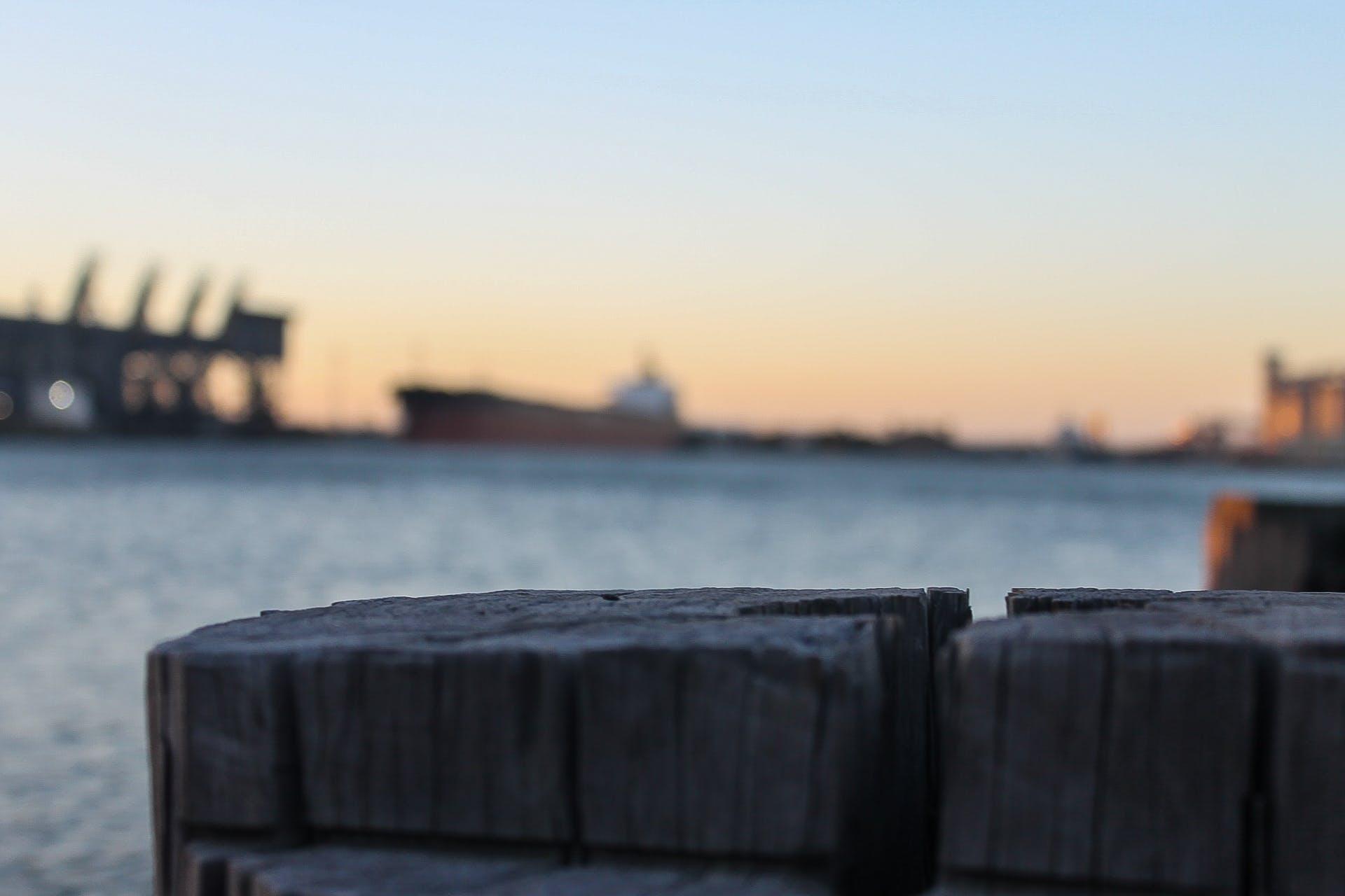 Free stock photo of wood, sea, sunset, ocean