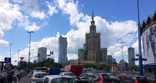 Free stock photo of city, poland, skyscrapers