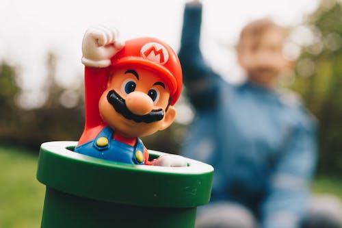 Imagine de stoc gratuită din copil, distracție, grădină, mario