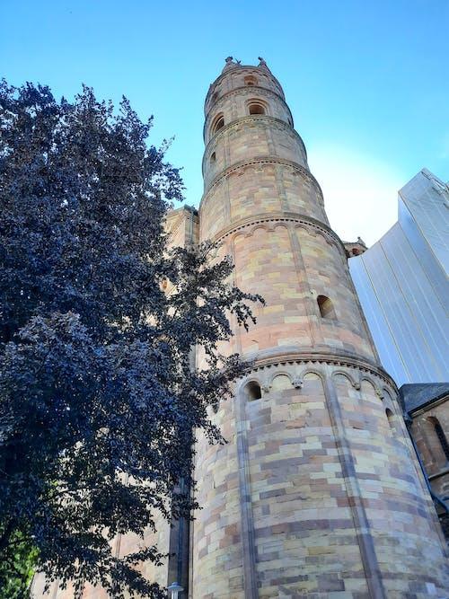 大聖堂, 太陽, 尖塔の無料の写真素材