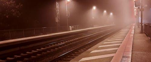 ミスト, 早朝, 線路の無料の写真素材