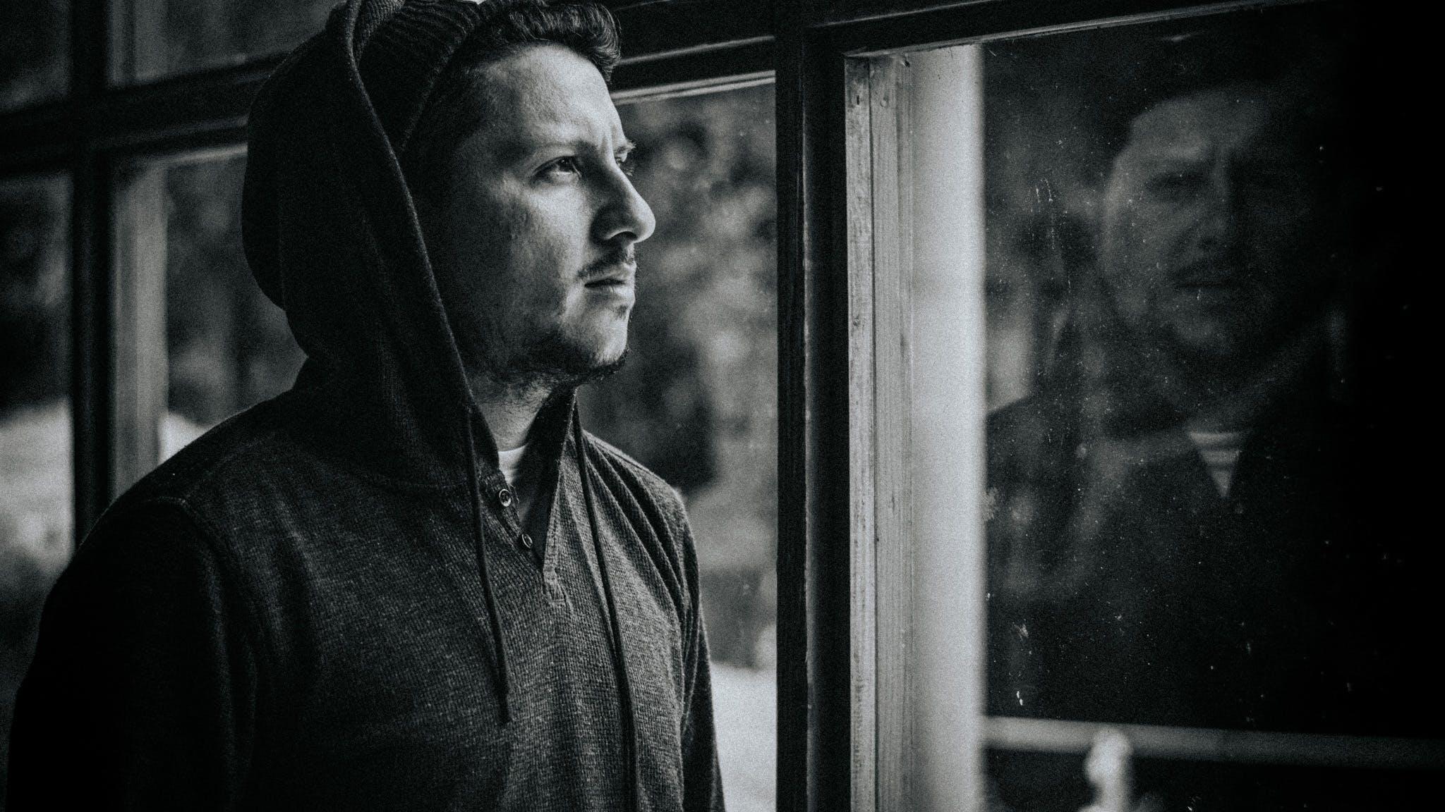Free stock photo of black and white, coffeehouse, thinking