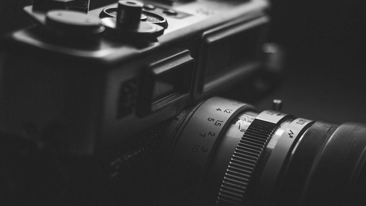 Macro Shot Photography of Camera