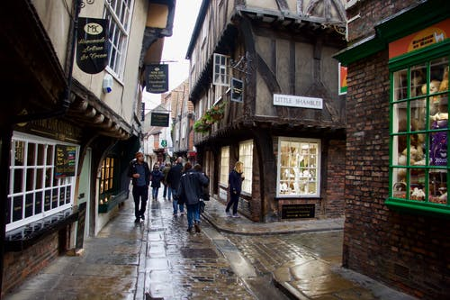 Free stock photo of ancient, narrow, shambles, street