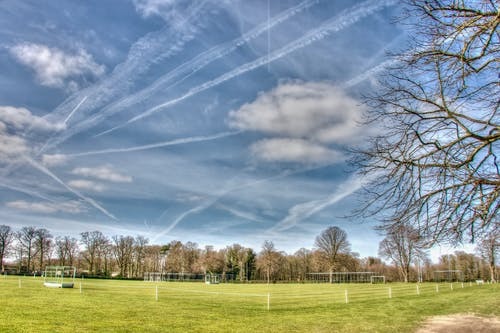 Free stock photo of clouds, hdr, playing field, sky