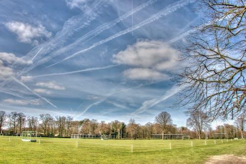 bulutlar, gökyüzü, hdr, izler içeren Ücretsiz stok fotoğraf
