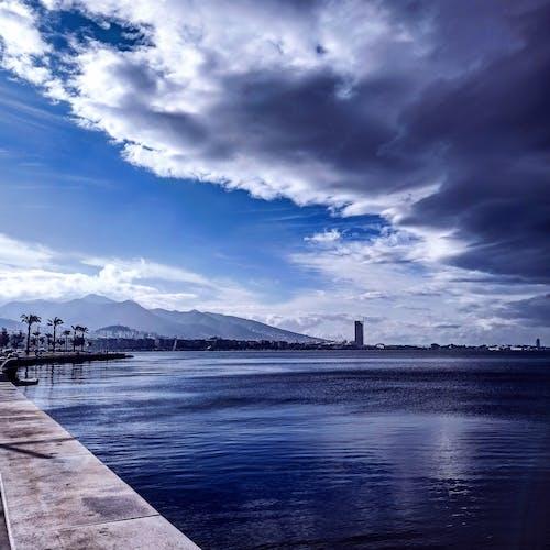 Immagine gratuita di bel paesaggio, costa, foto mobile