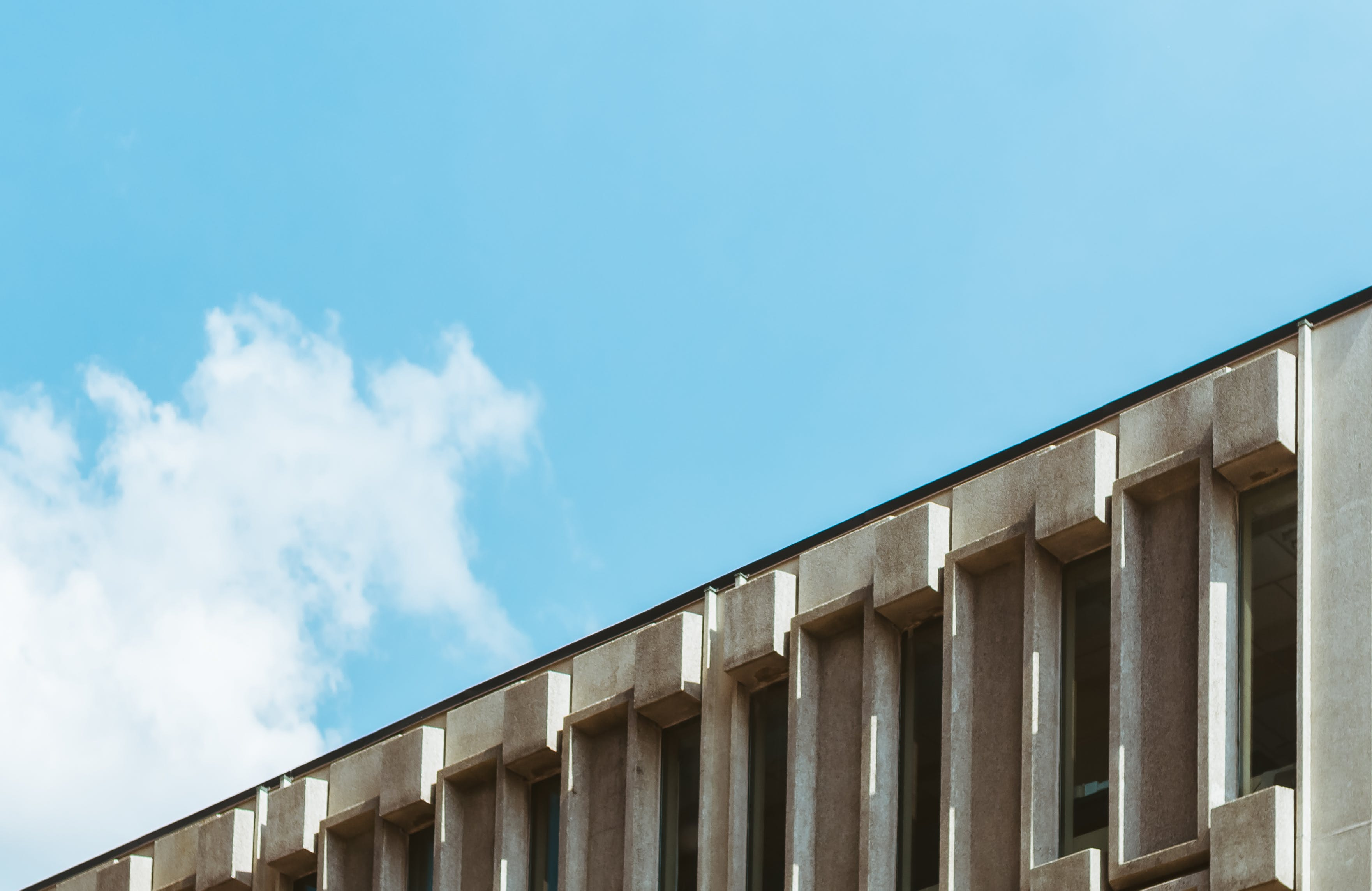 Free stock photo of architectural, architecture, blue sky, building
