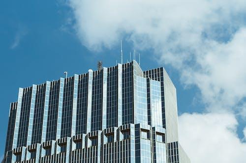 Foto d'estoc gratuïta de arquitectura, cel blau, centre de la ciutat, ciutat