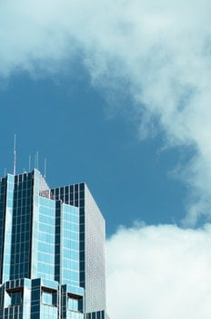 Free stock photo of city, sky, clouds, building