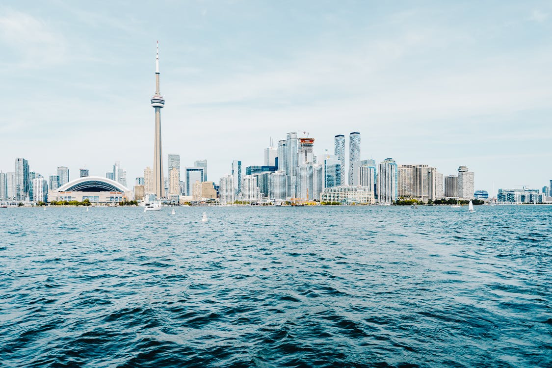 Panoramic Photography of Cn Tower