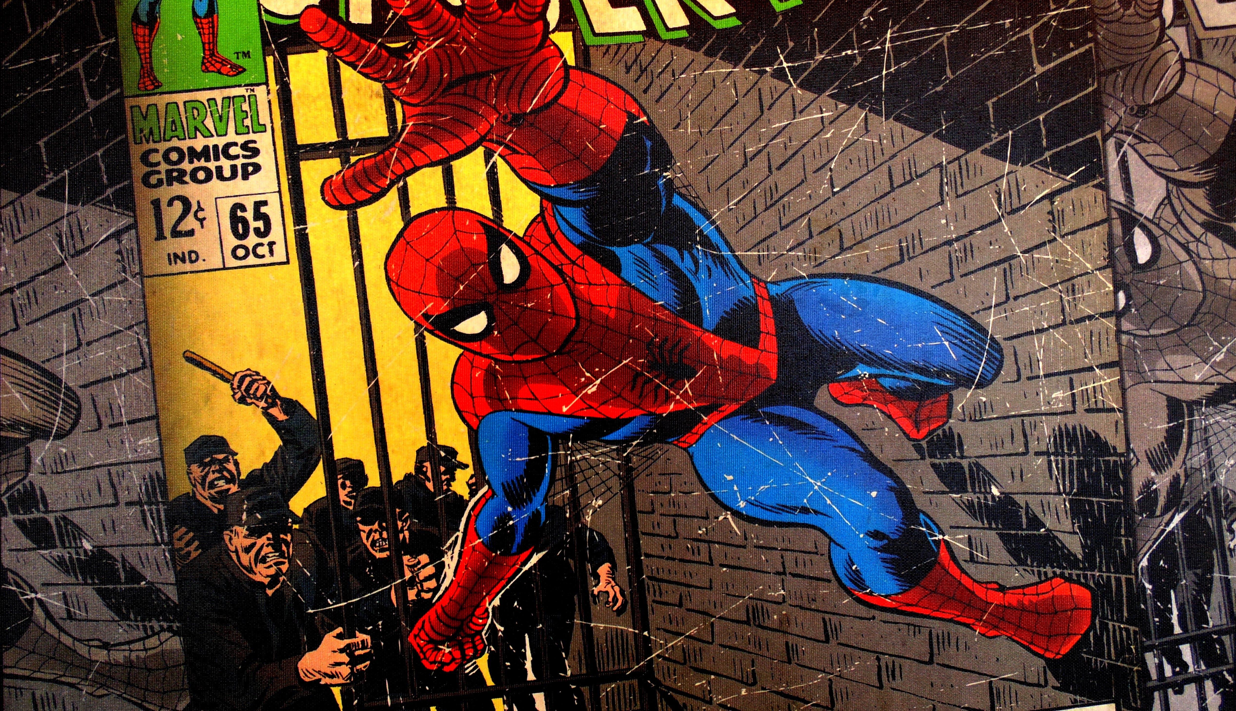 Free stock photo of comic, spiderman