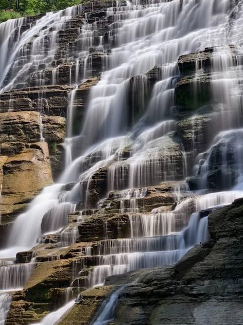 Scenic View of Waterfalls