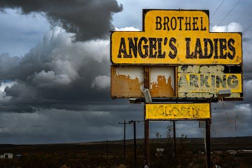 Fotos de stock gratuitas de advertencia, al aire libre, ángeles damas
