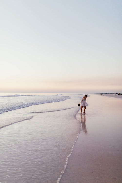 ビーチ, 冬, 夏, 夕方の無料の写真素材